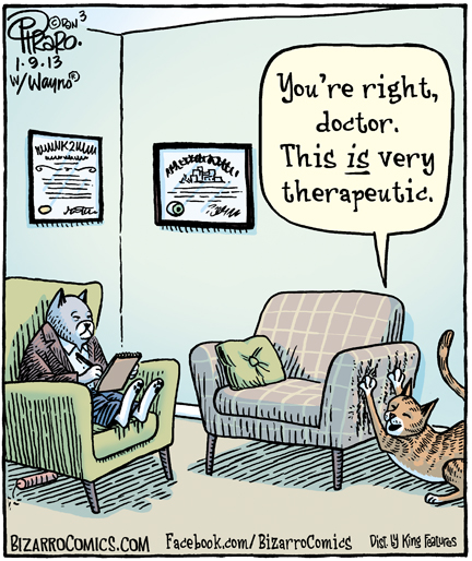 cat, therapy